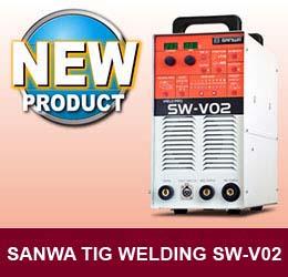 sanwa tig welding sw-v02 b